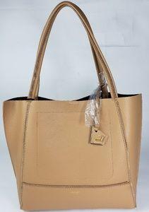 Botkier Soho Tote Handbag Camel Gold Leather